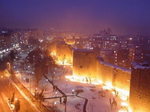 Diyarbakirda kar 4
