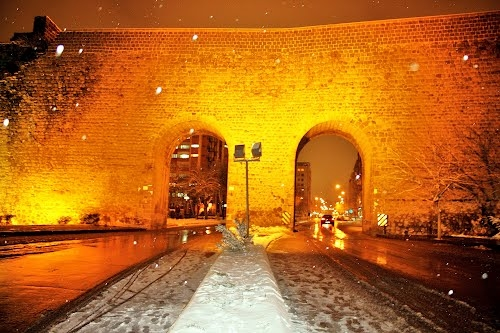 Diyarbakirda kar 6