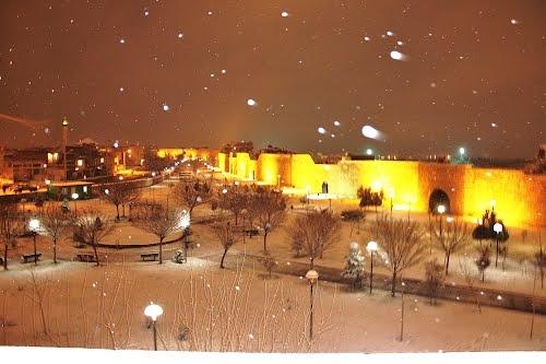 Diyarbakirda kar 7