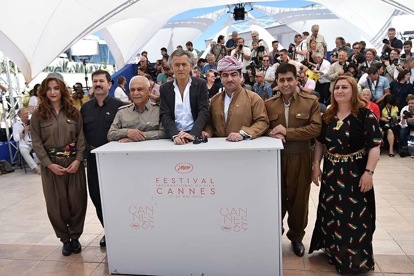 Peşmerge Cannes film festivalinde 4