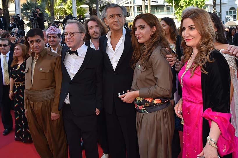 Peşmerge Cannes film festivalinde 7
