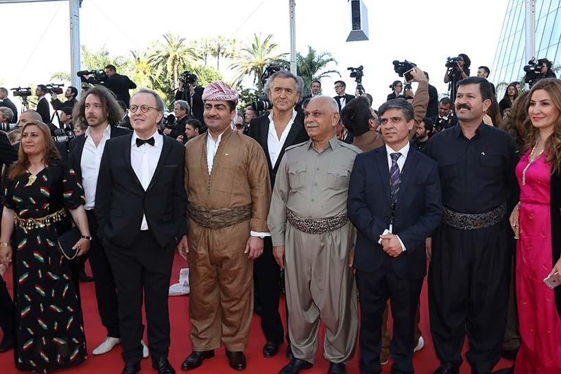 Peşmerge Cannes film festivalinde 8
