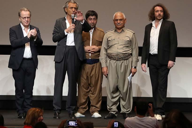 Peşmerge Cannes film festivalinde 9