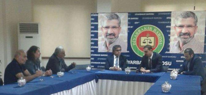 PAK Genel Başkanı Diyarbakır Barosu'nu Ziyaret Etti