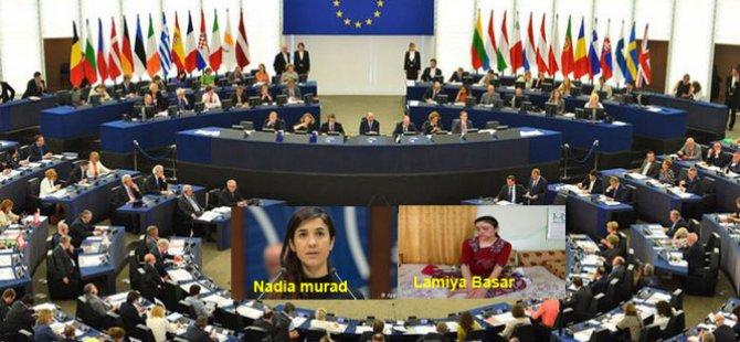 AP 'Saharov Ödülü'nü Kurd Ezidi aktivistler Nadia Murat ve Lamiya Başar'a layık gördü