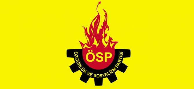 ÖSP'den ortak mücadele çağrısı