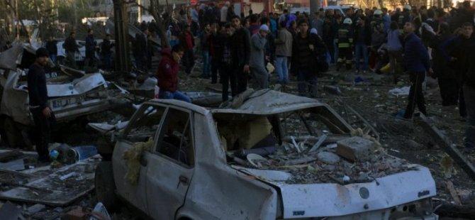 Diyarbekir'de patlama;  8 kişi yaşamını kaybetti