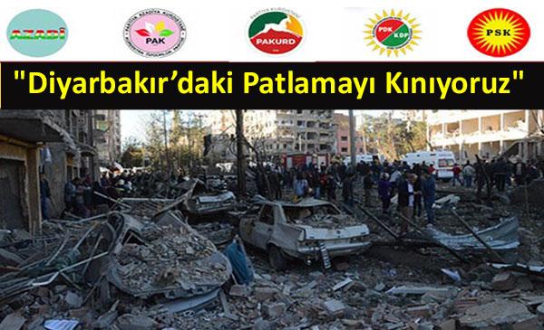 """""""Türk Devleti halkımızı tek yol olarak şiddete sürüklemek istiyor"""""""
