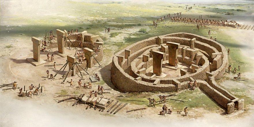 12 bin yıllık Göbekli Tepe'ye ilişkin yeni iddia: Geometrik düzen üzerine inşaa edildi