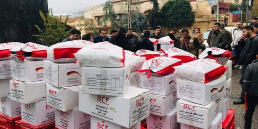 Barzani Vakfı'ndan Rojava'ya tıbbi yardım