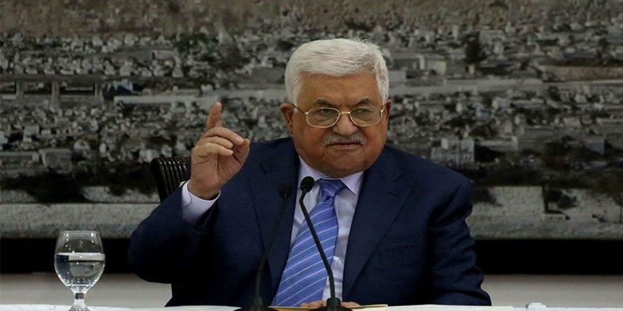 Abbas: ABD ve İsrail'le varılan tüm anlaşmalardan çekildik