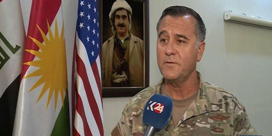Koalisyon komutanı: Kürdistan Anti-terör güçleri DAİŞ'e karşı çok etkili