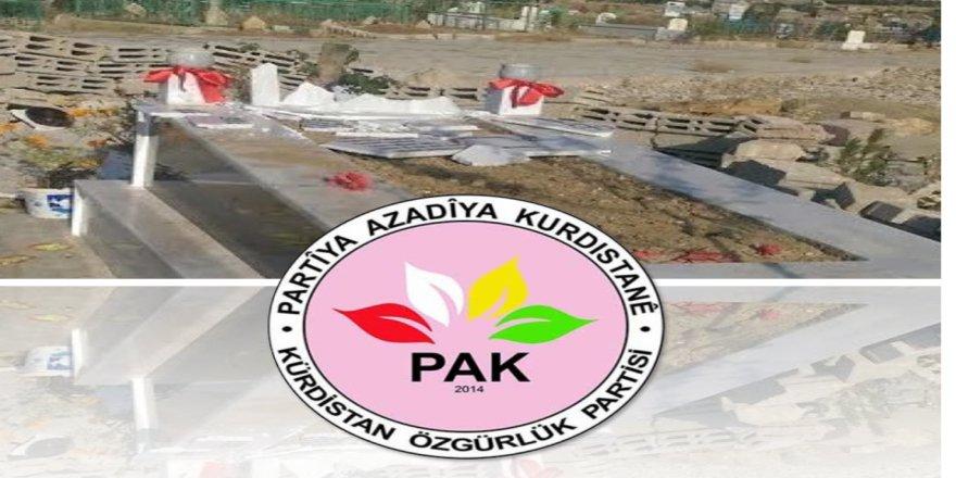 PAK: Mezarlıkların Tahrip Edilmesi Bir İnsanlık Suçudur