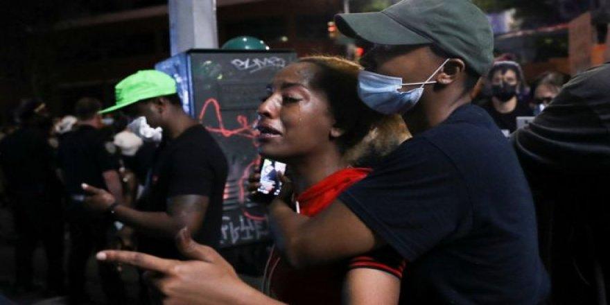 New York'ta 'Adalet yoksa huzur da yok', 'Tenimin rengi yüzünden beni öldürme' sloganlarıyla adalet arayışı