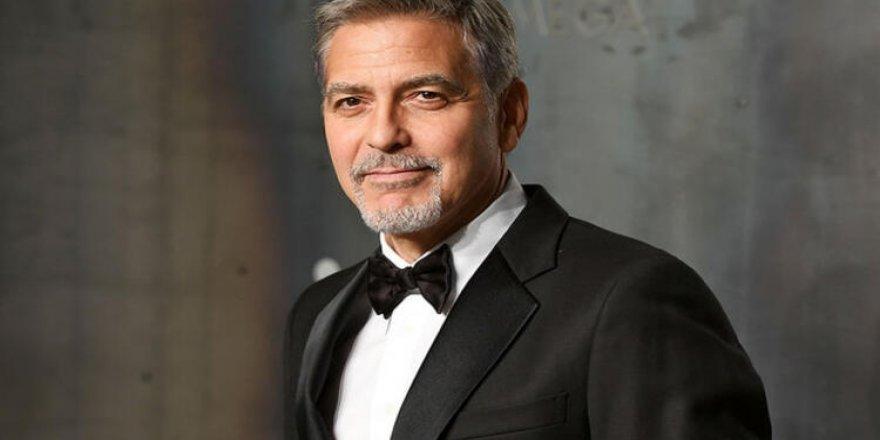 Clooney: Bu da bizim pandemimiz, 400 yıldır hala aşı bulacağız