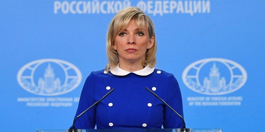 Zaharova: Rusya-Türkiye ilişkileri karşılıklı yarar üstüne kurulu