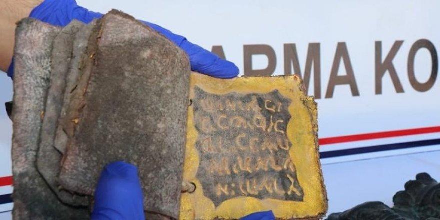 Diyarbakır'da tarihi eser kaçakçılığı