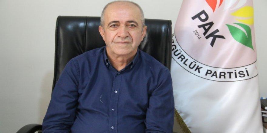 PAK MYK üyesi Hanifi Turan Mezopotamya Ajansı'nın sorularını yanıtladı