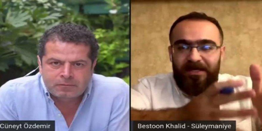 Cüneyt Özdemir Kürdistanlı gazeteciyle yaptığı söyleşiyi yayından kaldırdı