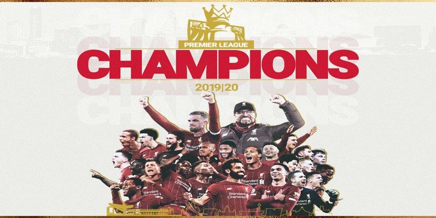 Liverpool 30 yıl sonra şampiyon oldu