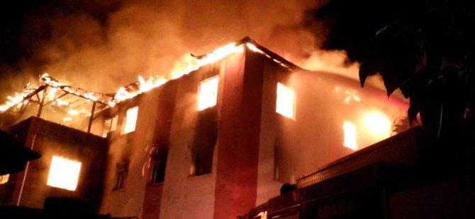 Kız öğrenci yurdunda çıkan yangında 11 genc kız yaşamını yittirdi
