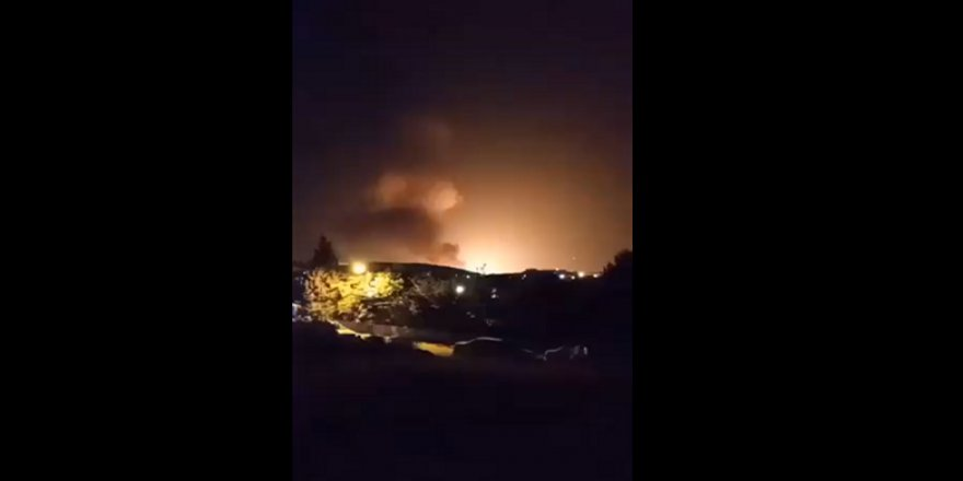 İran'da patlama!