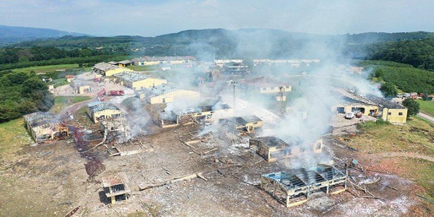 Havai fişek fabrikasında patlama: 4 kişi yaşamını yitirdi