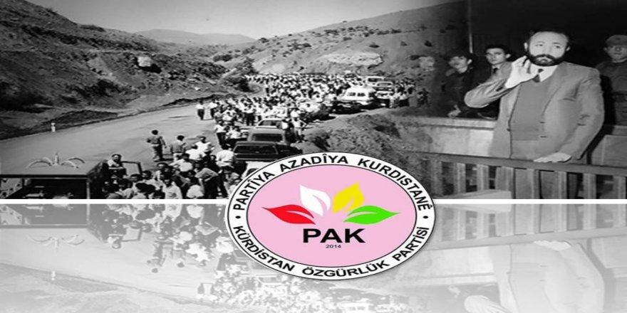 PAK: Kürt Yurtseveri Vedat Aydın'ı Saygıyla Anıyoruz