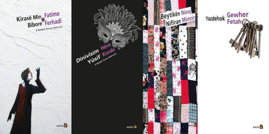 Şahmaran Koleksiyonundan 4 yeni şiir kitabı