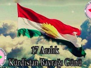 PAK Kürdistan Bayrağı Gününü Kutluyor