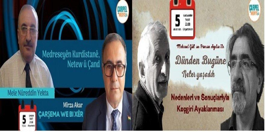Çarpel Medya'da akşam programı /5 Ağustos 2020/