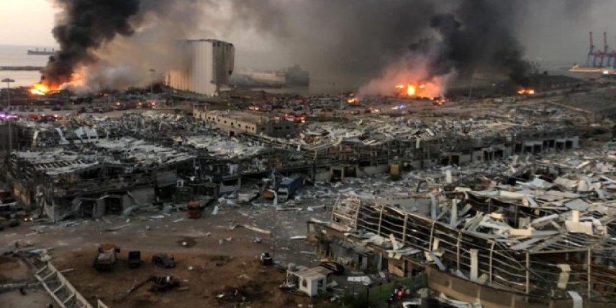 Beyrut'un merkezinde şiddetli patlama: En az 100 ölü, 4 binden fazla yaralı