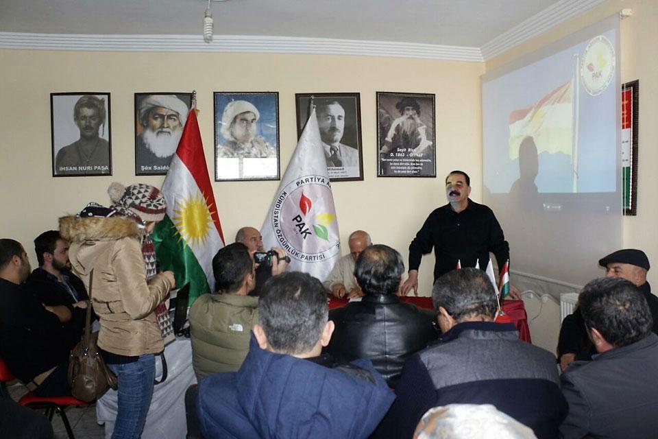 PAK 7 Şehirde Kürdistan bayrağı Gününü Kutladı