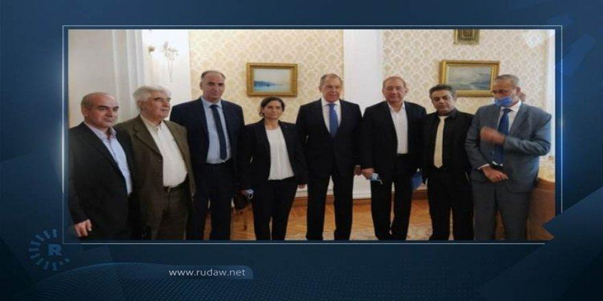 Rojava heyeti Lavrov'la görüştü