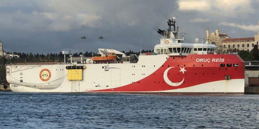 Oruç Reis gemisi arama bölgesinden ayrıldı