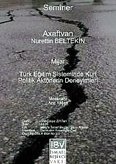 Seminer: Türk eğitim sisteminde Kürt politik aktorlerinim deneyimleri