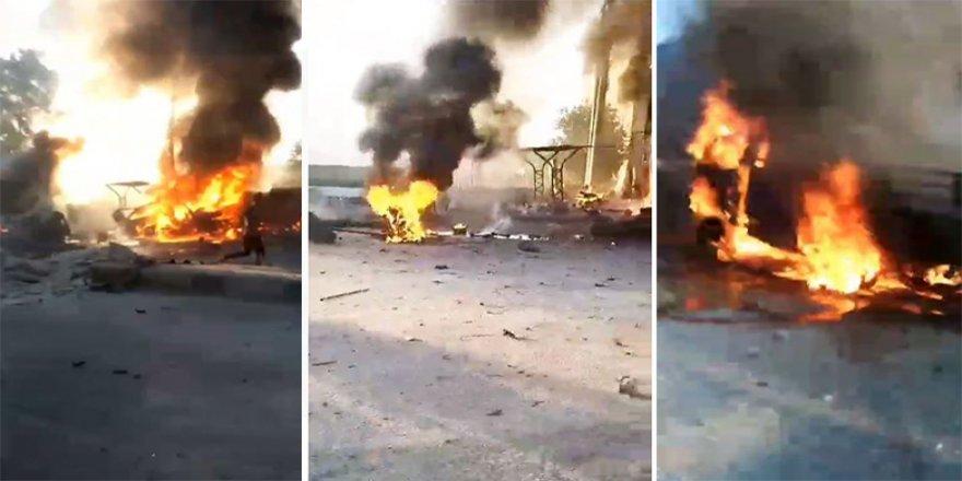 Afrin'de patlama: Ölü ve yaralılar va
