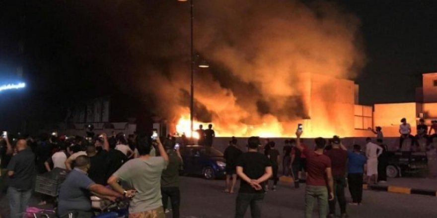 Bağdat | Yeşil Bölge'ye füzeli saldırı: Sirenler devreye girdi!