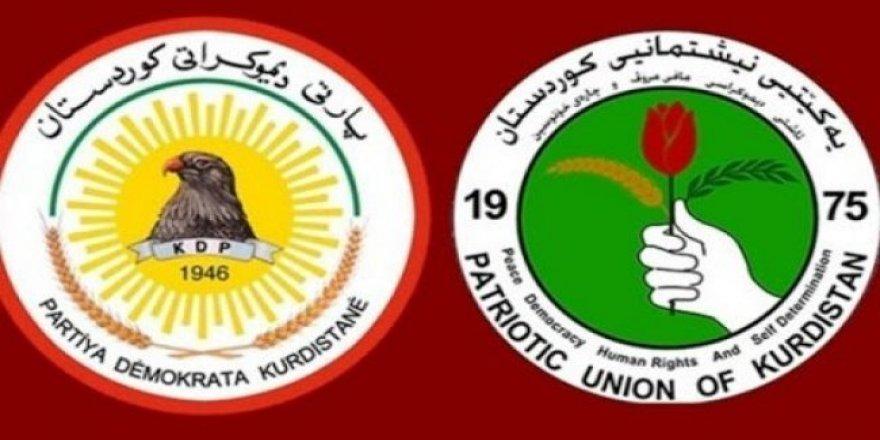 KDP ve YNK arasında siyasi mutabakat imzalandı