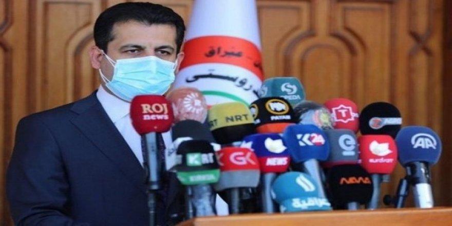 Kürdistan Bölgesi'nde 1 haftalık salgın bilançosu: 164 ölüm