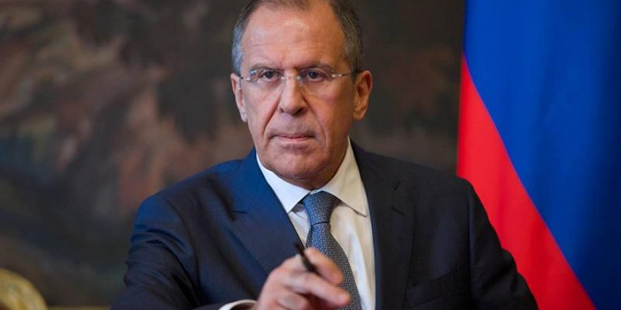 Lavrov: Amerika Ortadoğu'da tehlikeli bir oyun oynuyor