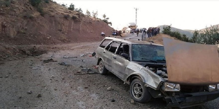 Siirt'te korucu aracının geçişi sırasında patlama