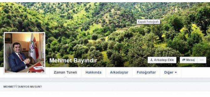 Demirtaş'ın fotoğrafını paylaşan muhtar görevden alındı