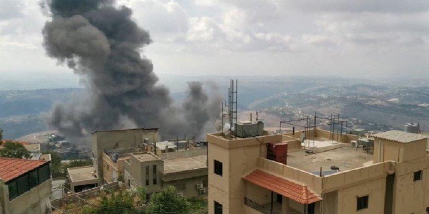Lübnan'da Hizbullah'ın silah depolarında şiddetli patlama