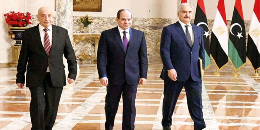 Sisi, Kahire'de Hafter ve Salih ile görüştü