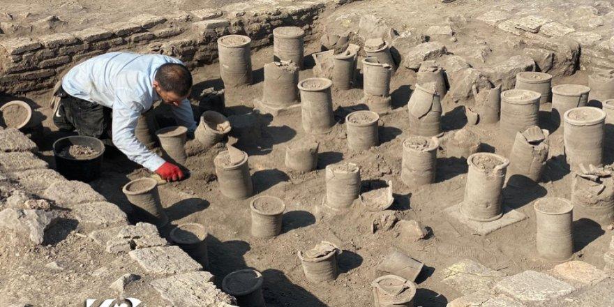 Duhok'ta 1500 yıllık imalathane bulundu