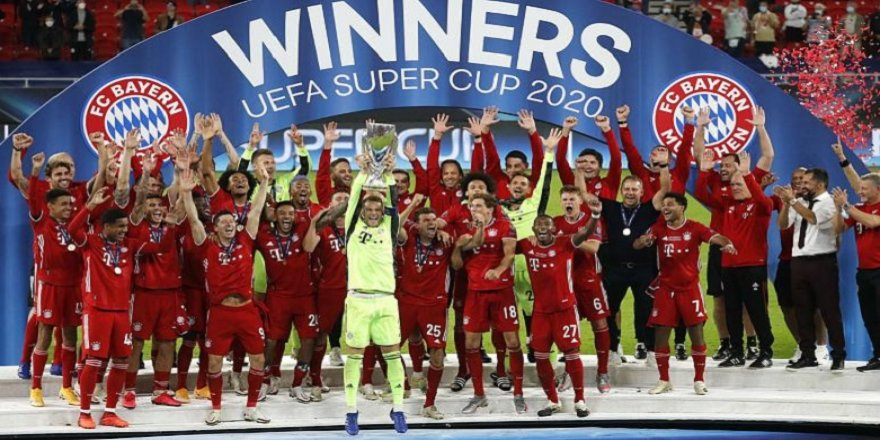 UEFA Süper Kupa şampiyonu Bayern Münih