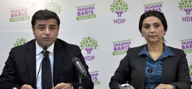 Demirtaş'ın 142, Yüksekdağ'ın 83 yıla kadar hapsi isteniyor