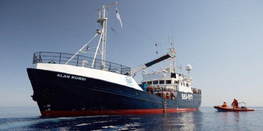 Alan Kurdi gemisi 125 göçmenle İtalya kıyılarında