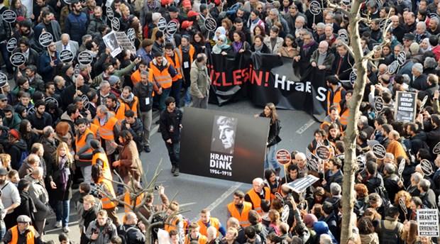 Agos Gazetesi Genel Yayın Yönetmeni Hrant Dink'in katledilişinin 10'uncu yıldönümü.